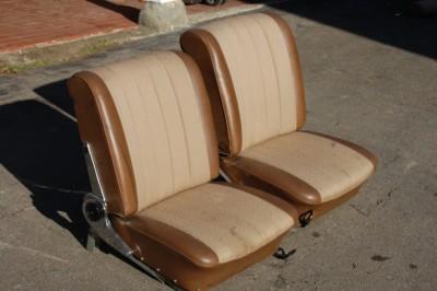 Fahrer- und Beifahrersitz für W108