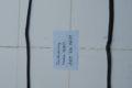Türdichtung hinten rechts für W109, Art.Nr. 1097300678