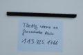 Türdichtung vorne / Glasscheibe links  für W113, Art.-Nr. 1137251766