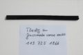 Dichtung Glas an Tür rechts für W113 Pagode, Art.Nr. 1137251866
