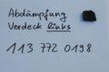 Abdämpfung Verdeck links  für W113, Art.-Nr. 1137720198