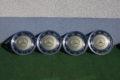 4er-Satz Raddeckel Farbe silberdistelmetallic für W115 /8