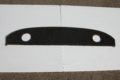 Hutablage Farbe schwarz, mit Lautsprecherlöchern li/re, für W115