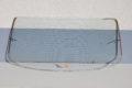 Heckscheibe glasklar, heizbar, Art.Nr. 1236701280 für Mercedes-Benz W123