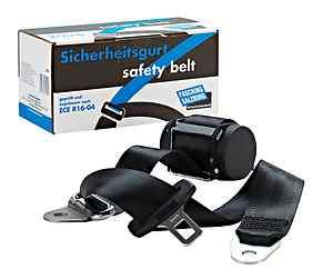 3-Punkt-Automatik Sicherheitsgurt Rücksitz, zur Montage auf der Hutablage für Daimler-Benz /8, passend links oder rechts