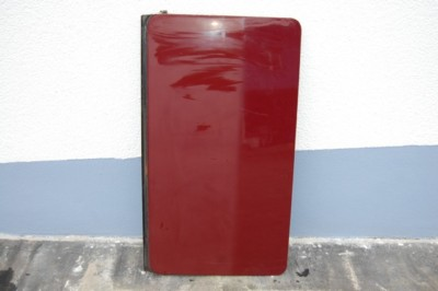 Schiebedachdeckel rostfrei, rot für Mercedes-Benz W123