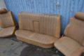 Sitzgarnitur hellbraun für W123-Limousine