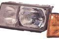 Hauptscheinwerfer links, H4, mit Blinklicht, mit Positionslicht, Lichtstärke 12,5