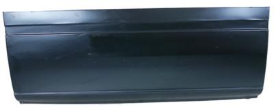 Längsblech, links unten, Länge 118.5 cm, Höhe 48 cm