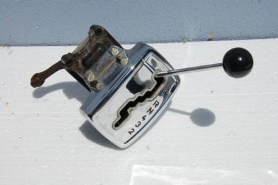 Chromschaltkulisse bei Automaticgetriebe mit Chromschalthebel für die Baureihen W108/109/111/112/113/114/W115