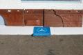 Türverkleidungssatz mahaghoni für W115/8 Serie 2 Kartentasche unversehrt