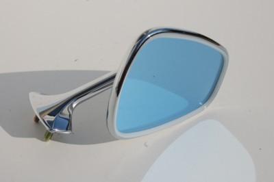 Außenspiegel links für W108/109, W113, frühe Ausführung: kleiner Spiegelfuß, Art.-Nr. 108 810 0316