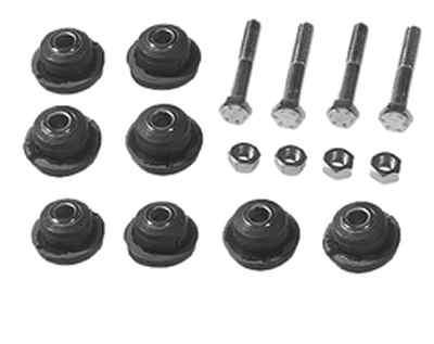 Nr.8.2 – Doppel-Reparatursatz Querlenker oben links und rechts, beinhaltet 4 Schrauben und 8 Buchsen, Art.-Nr. 1153301775
