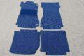 Neuanfertigung Fußmattensatz in 2-Ton-Schlinge, 4-teilig, 4 Farben lieferbar,  für DB /8