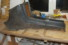 Mittelkonsole mit Teppichbesatz für W115