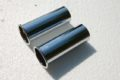 Auspuffblendenpaar für W123-280C und 280CE, Durchmesser 52 mm