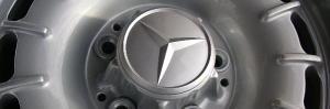 Radnabenabdeckung  für  Alufelgen für Mercedes-Benz W107/108/109/113/114/115/116/123