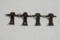4er-Satz Raddeckelhalter für W115 /8