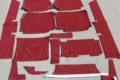 Komplett-Teppichsatz, Zweitonschlinge Farbe weinrot für W114/8 und W115/8, Limousine und Coup