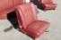 Innenausstattungs-Konvolut für W115/8-Limousine Stoff rot