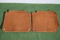 Fußmatten Paar Fond links und rechts mahaghoni für W115 /8