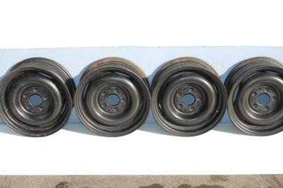 4er-satz Stahlfelgen 5,5 J x 14' passend auf W114, W115, W123 Art.Nr. 1154001302, schwarz