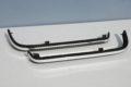 Chromzierleisten (Paar li/re) unter den Rücklichtern für Mercedes Benz W123, Art.-Nr.