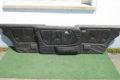 Türverkleidungen schwarz Kunstleder MB-TEX, 3er-Satz, für W123